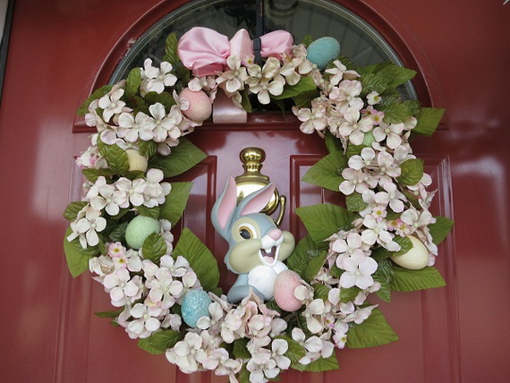 70 Awesome Outdoor Easter Decorations For A Special Holiday_26