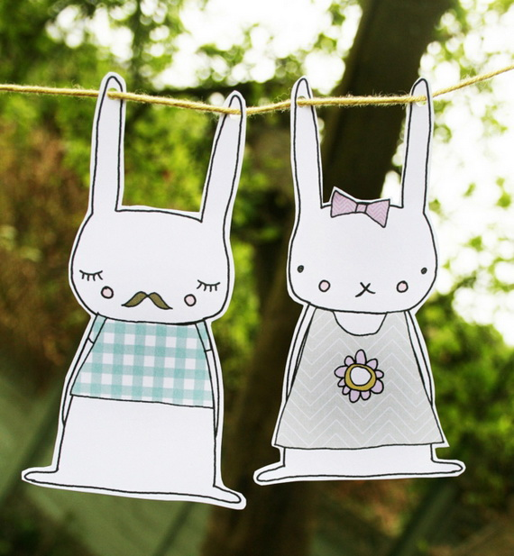 70 Awesome Outdoor Easter Decorations For A Special Holiday_58