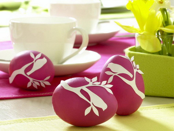 70 Elegant Easter Decorating Ideas for Your Home_29