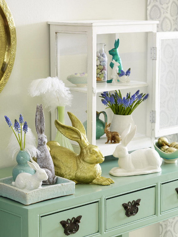 70 Elegant Easter Decorating Ideas for Your Home_64