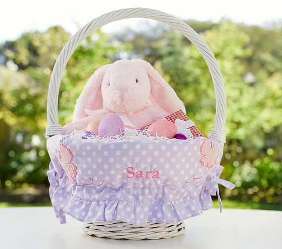 Adorable Easter Baskets You Can Use Year After Year__13