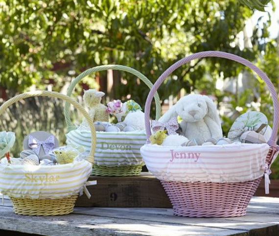 Adorable Easter Baskets You Can Use Year After Year__24