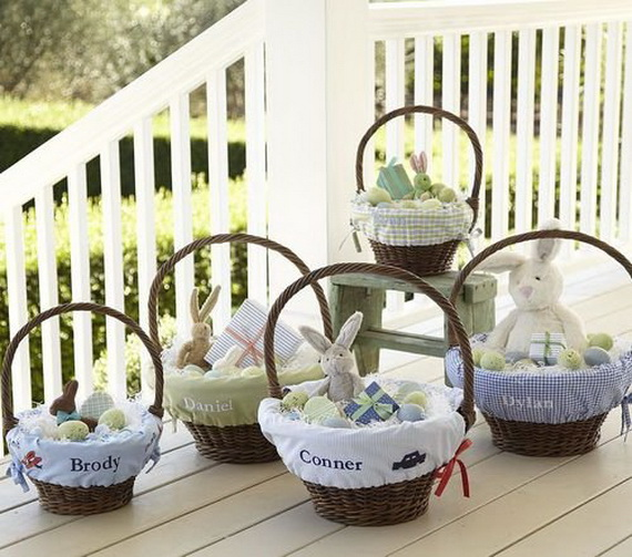 Adorable Easter Baskets You Can Use Year After Year__28