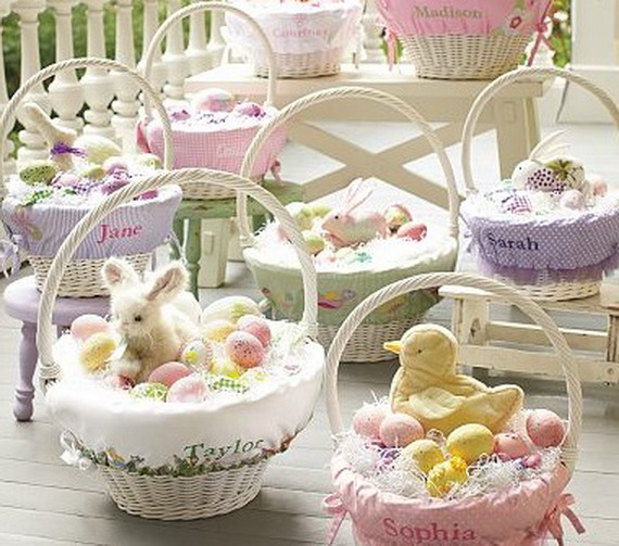 Adorable Easter Baskets You Can Use Year After Year__32