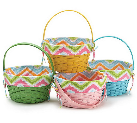 Adorable Easter Baskets You Can Use Year After Year__34