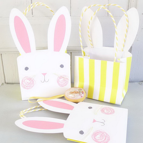 Adorable Easter Baskets You Can Use Year After Year__36