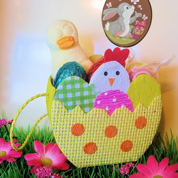 Adorable Easter Baskets You Can Use Year After Year__40