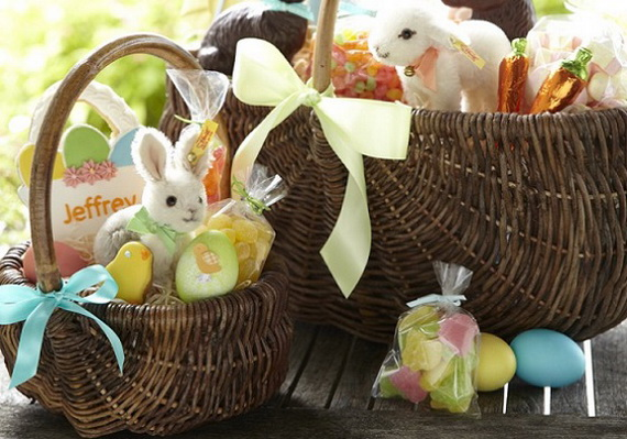 Adorable Easter Baskets You Can Use Year After Year__41