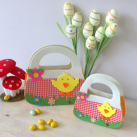 Adorable Easter Baskets You Can Use Year After Year__47