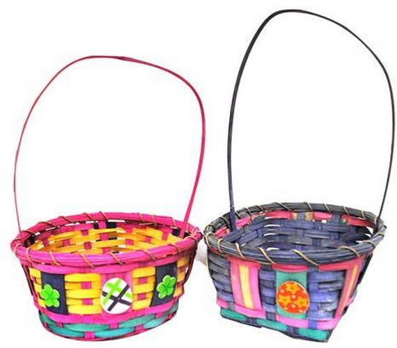 Adorable Easter Baskets You Can Use Year After Year__48