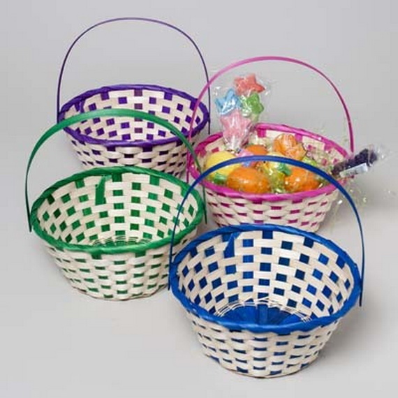Adorable Easter Baskets You Can Use Year After Year__58