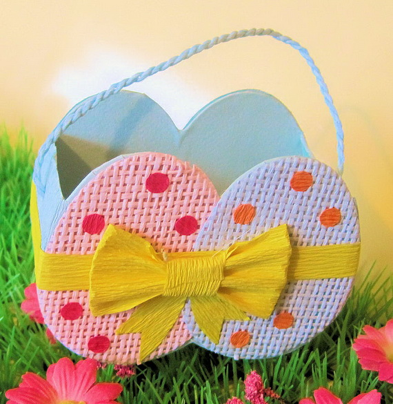 Adorable Easter Baskets You Can Use Year After Year__62
