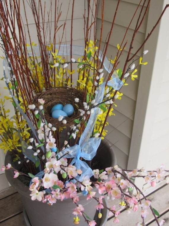 Awesome Spring And Easter Ideas to Spruce Up Your Porch  _02