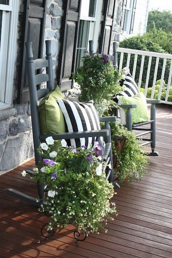 Awesome Spring And Easter Ideas to Spruce Up Your Porch  _03