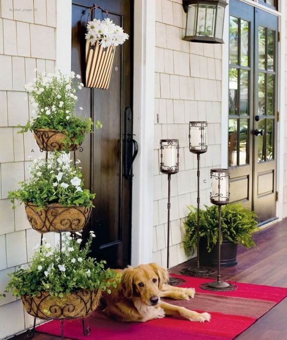 Awesome Spring And Easter Ideas to Spruce Up Your Porch  _04