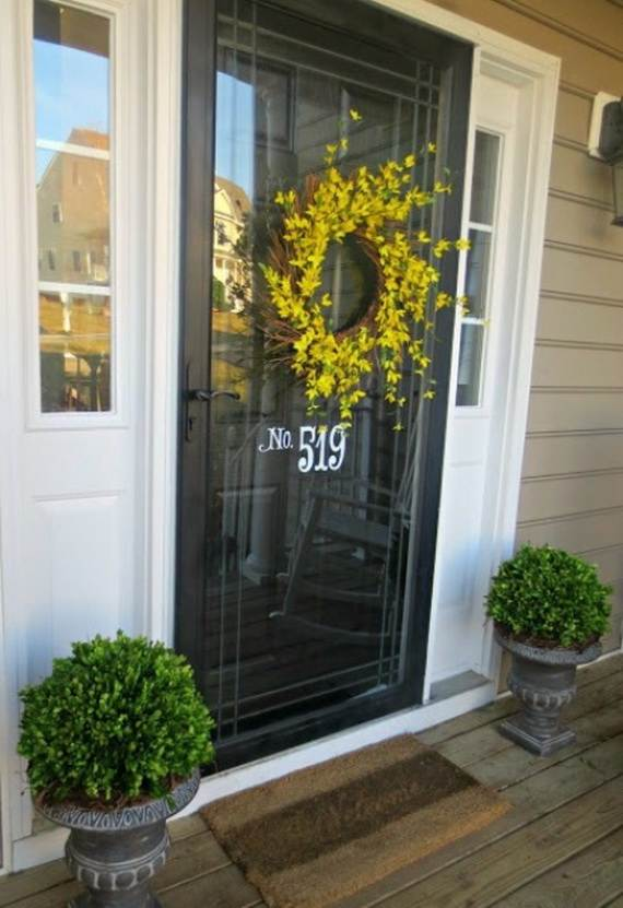 Awesome Spring And Easter Ideas to Spruce Up Your Porch  _05