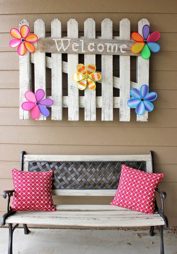Awesome Spring And Easter Ideas to Spruce Up Your Porch  _06