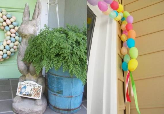 Awesome Spring And Easter Ideas to Spruce Up Your Porch  _07