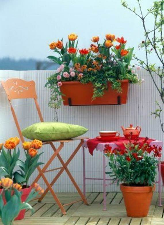 Awesome Spring And Easter Ideas to Spruce Up Your Porch  _08