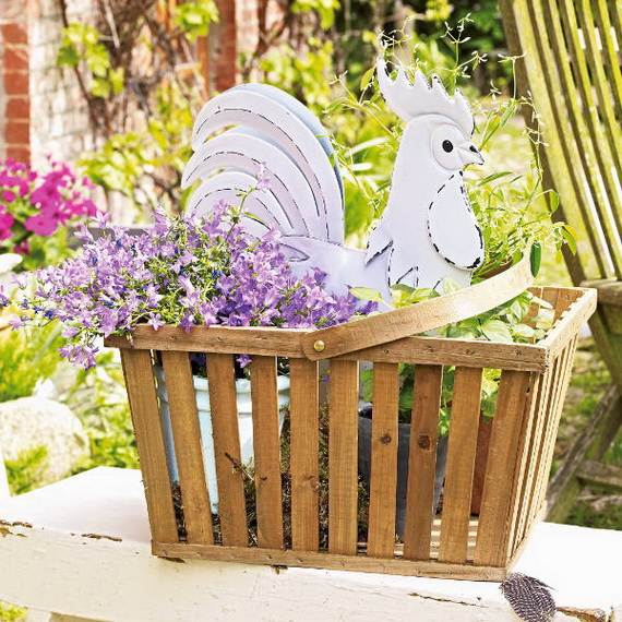 Awesome Spring And Easter Ideas to Spruce Up Your Porch  _18