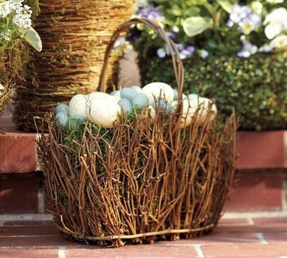 Creative Easter Ideas  In Blue And White_01