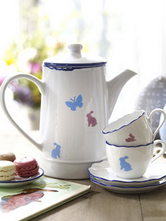 Creative Easter Ideas  In Blue And White_10