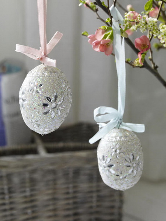Creative Easter Ideas  In Blue And White_11