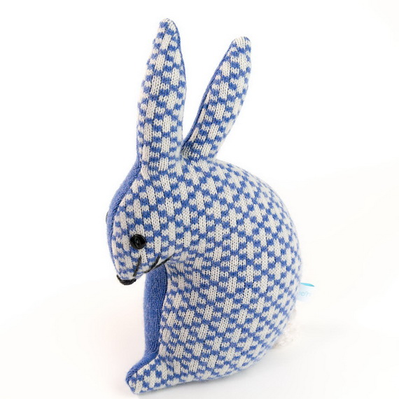 Creative Easter Ideas  In Blue And White_13