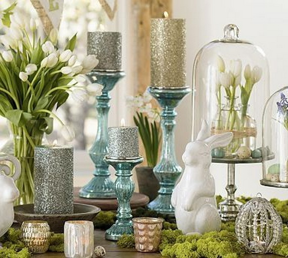 Creative Easter Ideas  In Blue And White_15