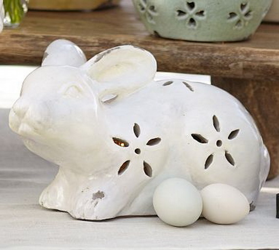 Creative Easter Ideas  In Blue And White_19