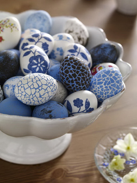Creative Easter Ideas  In Blue And White_20