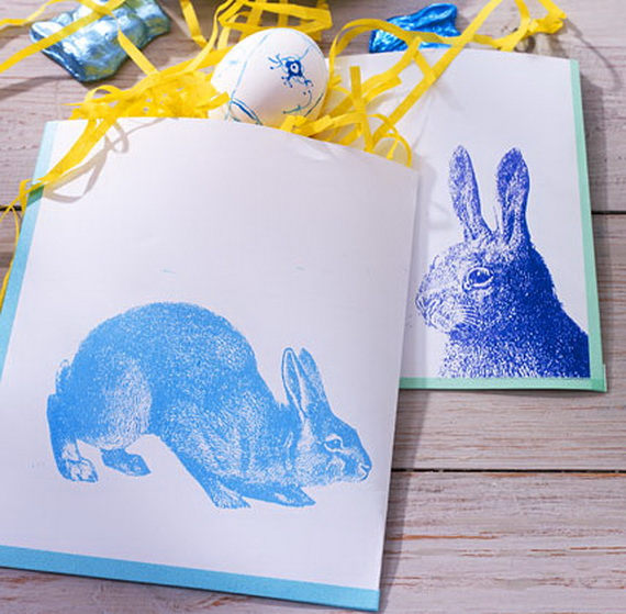 Creative Easter Ideas  In Blue And White_22