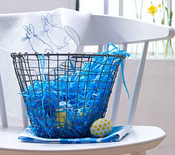 Creative Easter Ideas  In Blue And White_26