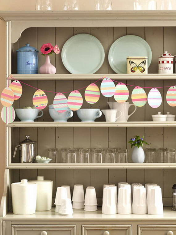 Creative Ways to Decorate With Easter Eggs_42