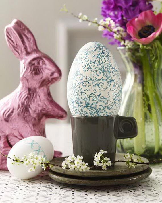 Ostern: Stempel Eier