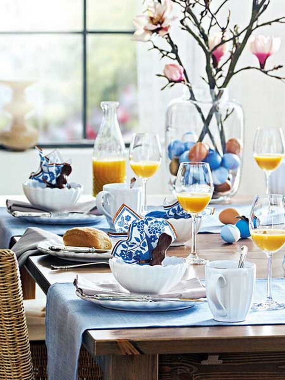 Easy Easter Centerpieces And Table Settings For Spring Holiday_34