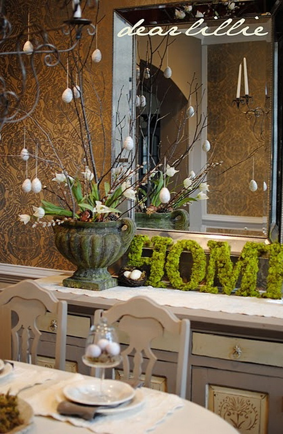 Fresh Spring Decorations Ideas - Decorate And Tinker With Moss_17