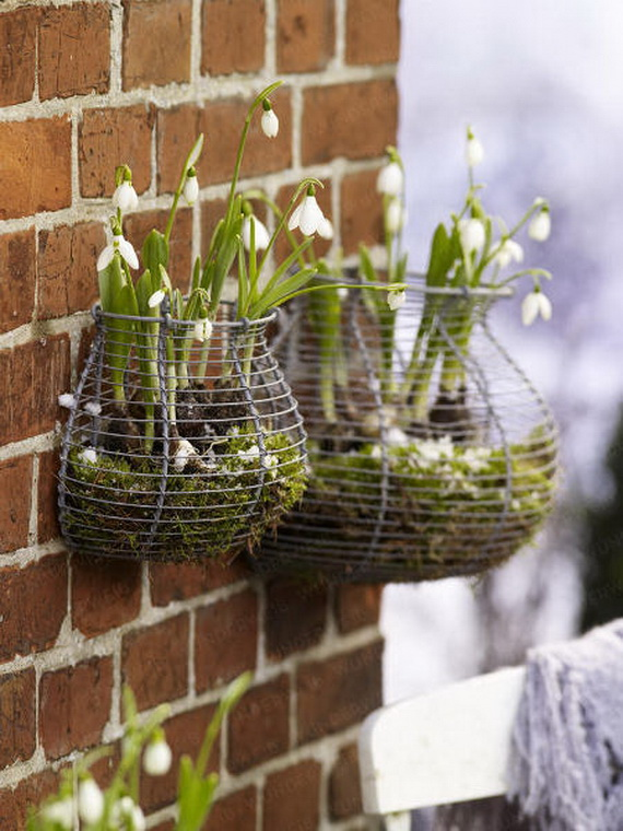 Fresh Spring Decorations Ideas Decorate And Tinker With Moss
