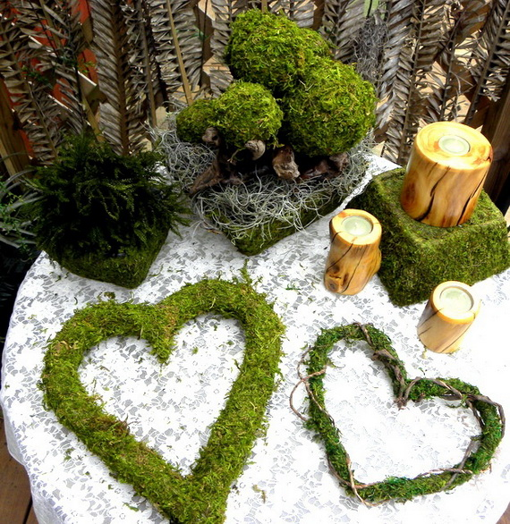 Fresh Spring Decorations Ideas - Decorate And Tinker With Moss_52