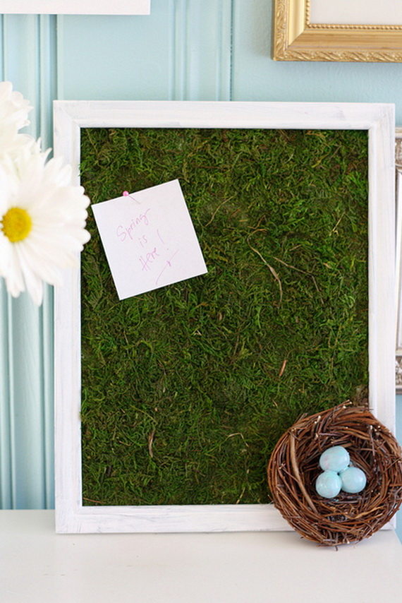Fresh Spring Decorations Ideas - Decorate And Tinker With Moss_54