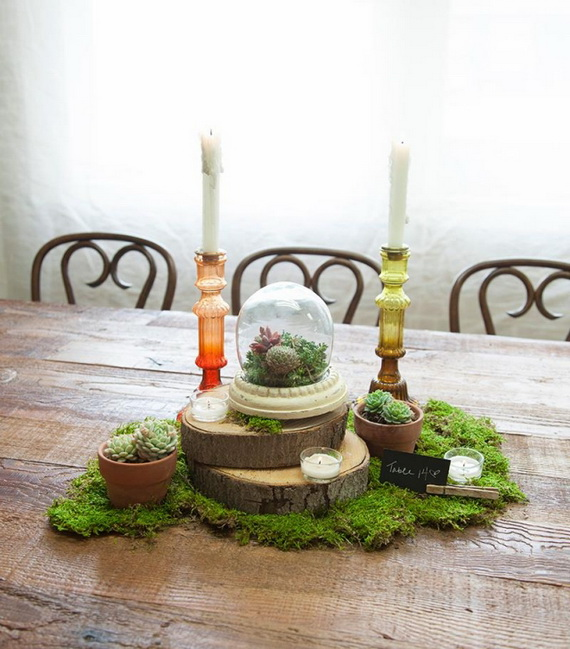 fresh spring decorations ideas decorate and tinker with moss_61 - Spring Decorating Ideas