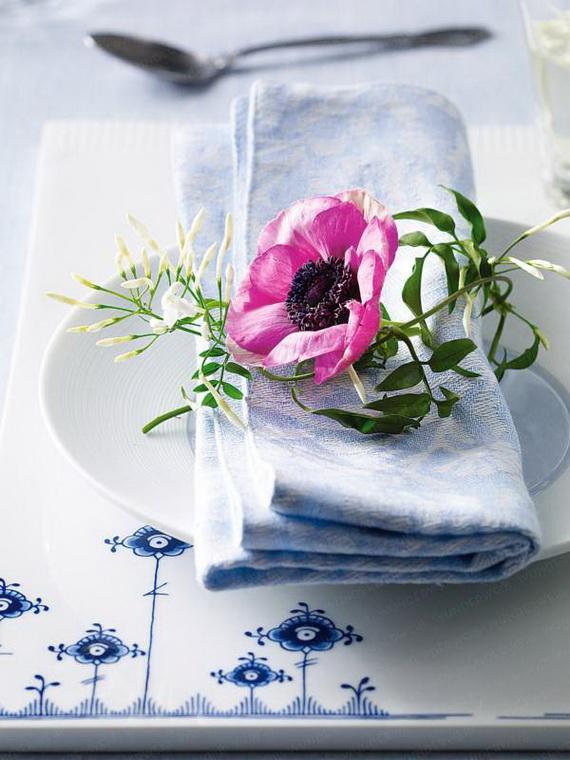 Gorgeous Single Flower Decoration Ideas  (1)