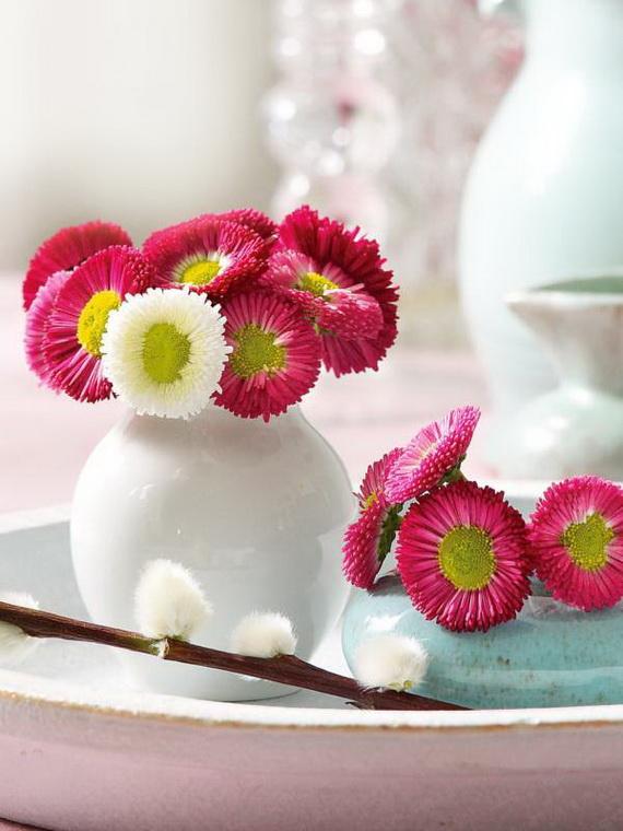 Gorgeous Single Flower Decoration Ideas  (2)