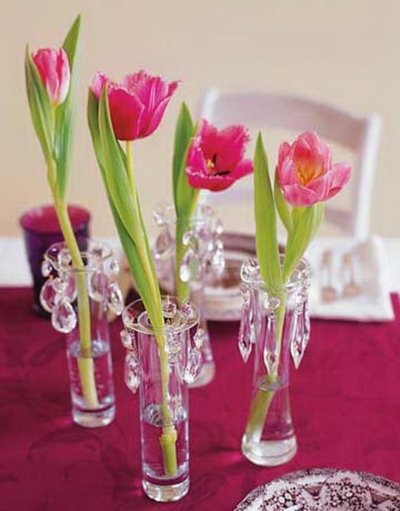 Gorgeous Single Flower Decoration Ideas  (3)