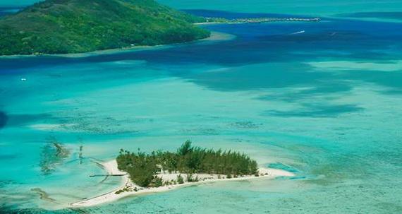Motu Tapu, The Resort's Private Islet