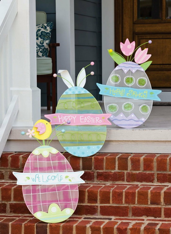 Outdoor Easter Decorations – 60 Ideas For A Special Holiday_02
