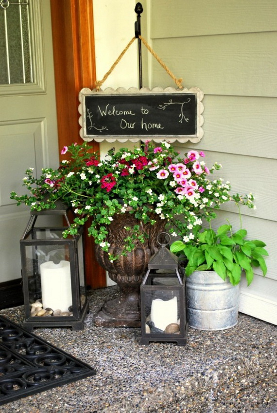 Outdoor Easter Decorations – 60 Ideas For A Special Holiday_06