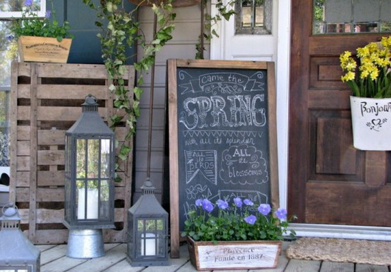 Outdoor Easter Decorations – 60 Ideas For A Special Holiday_09