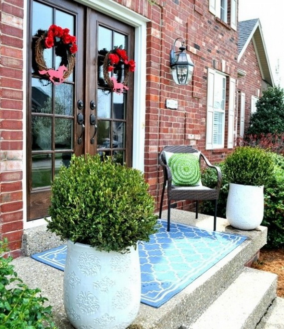 Outdoor Easter Decorations – 60 Ideas For A Special Holiday_10