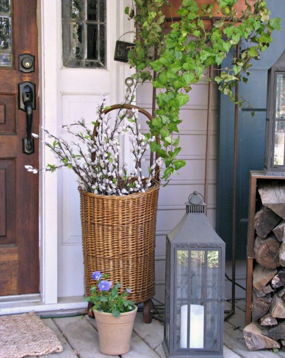 Outdoor Easter Decorations – 60 Ideas For A Special Holiday_11